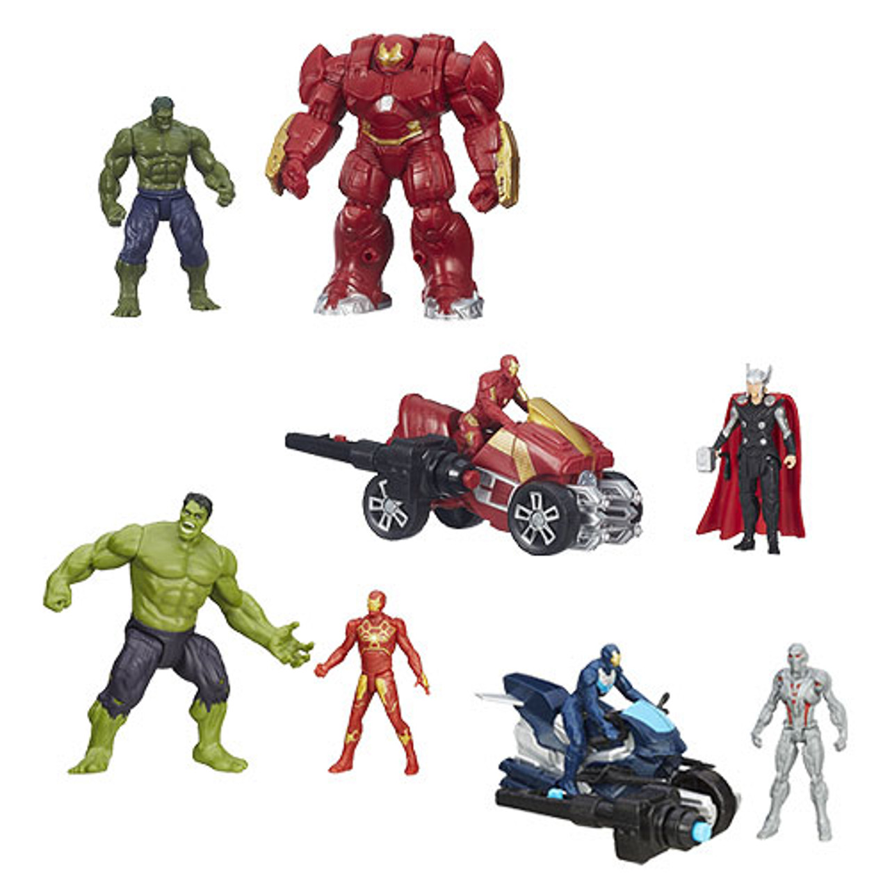 Avengers Age of Ultron 2 1//2-Inch Action Figures