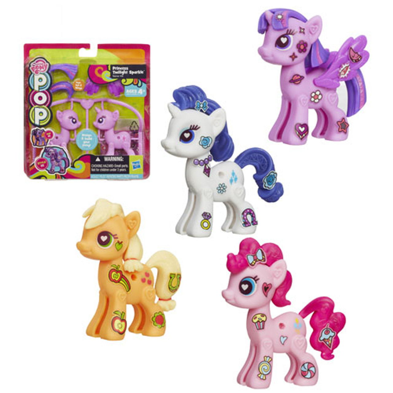 - My Little Pony Pop Customizable Basic Ponies Wave 1 - Buy At Not