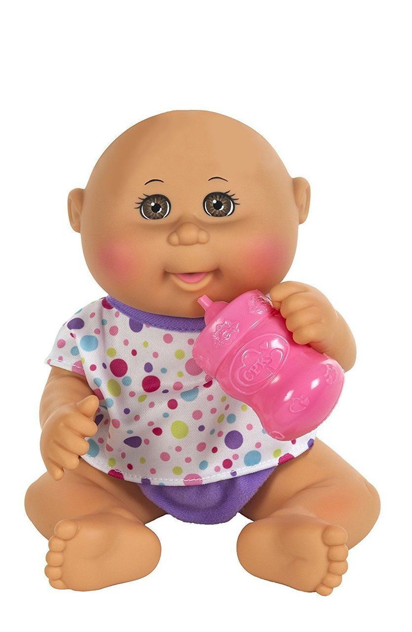 4d5a008c664c8 Cabbage Patch Kids - Drink N'Wet Newborn - Tan Newborn | Wicked Cool Toys |  Not Just Toyz