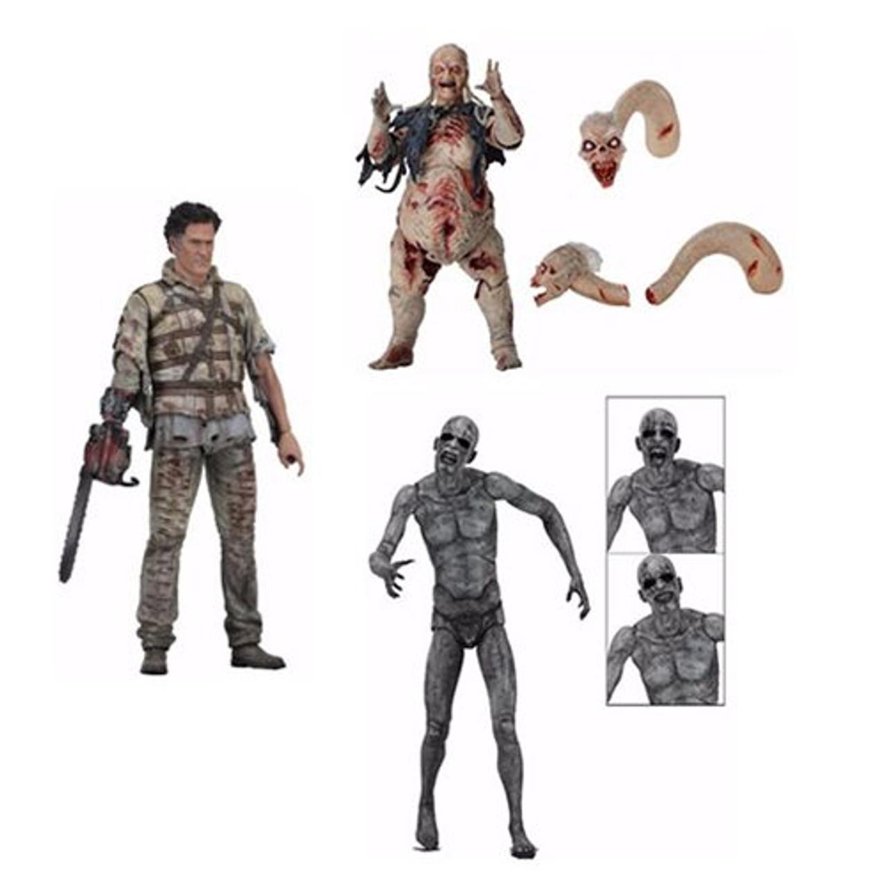 """NECA 7/"""" Scale Action Figure Asylum Ash Series 2 Ash vs Evil Dead"""