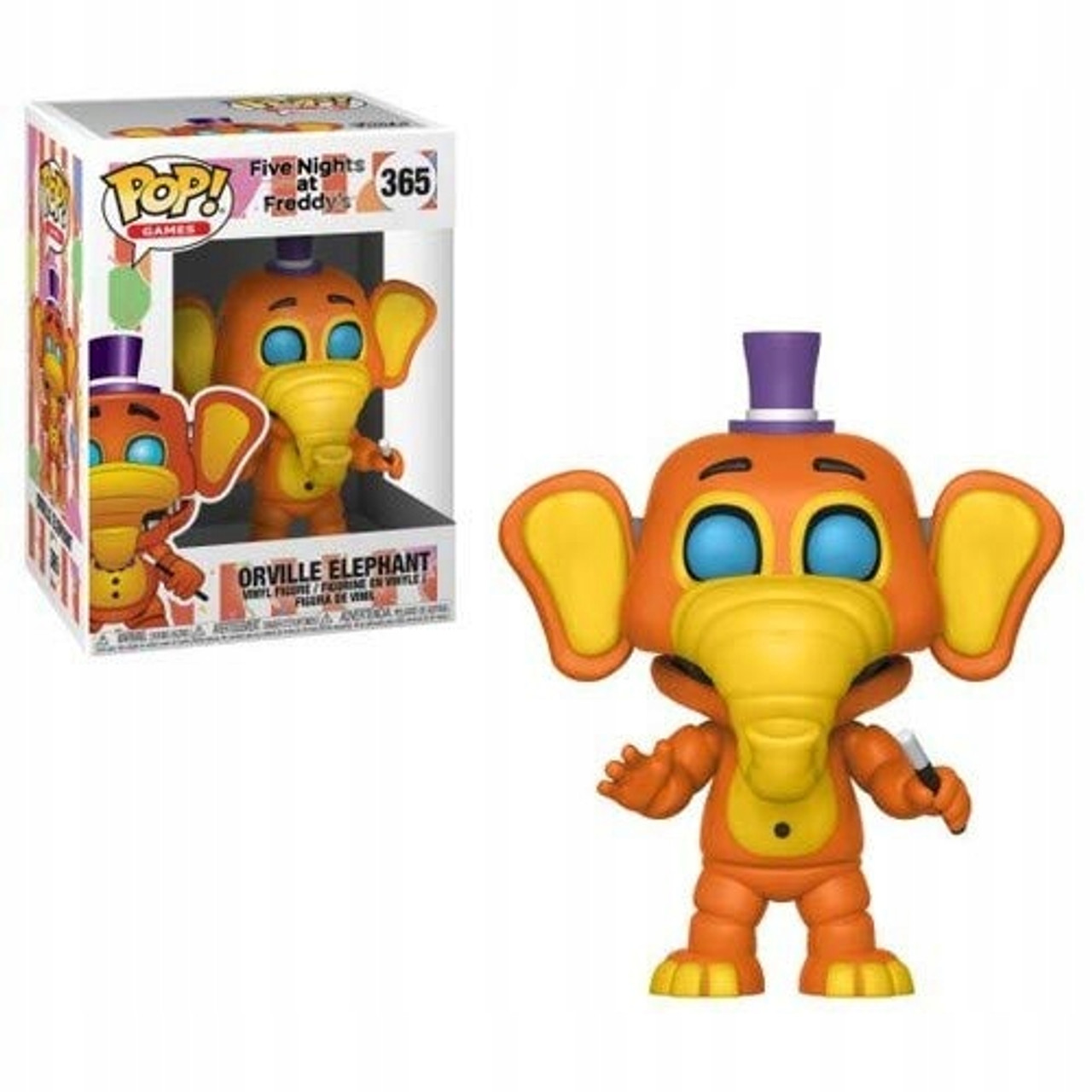 Five Nights At Freddy/'s Funko Action Figure Pizza Sim Orville Elephant Glow