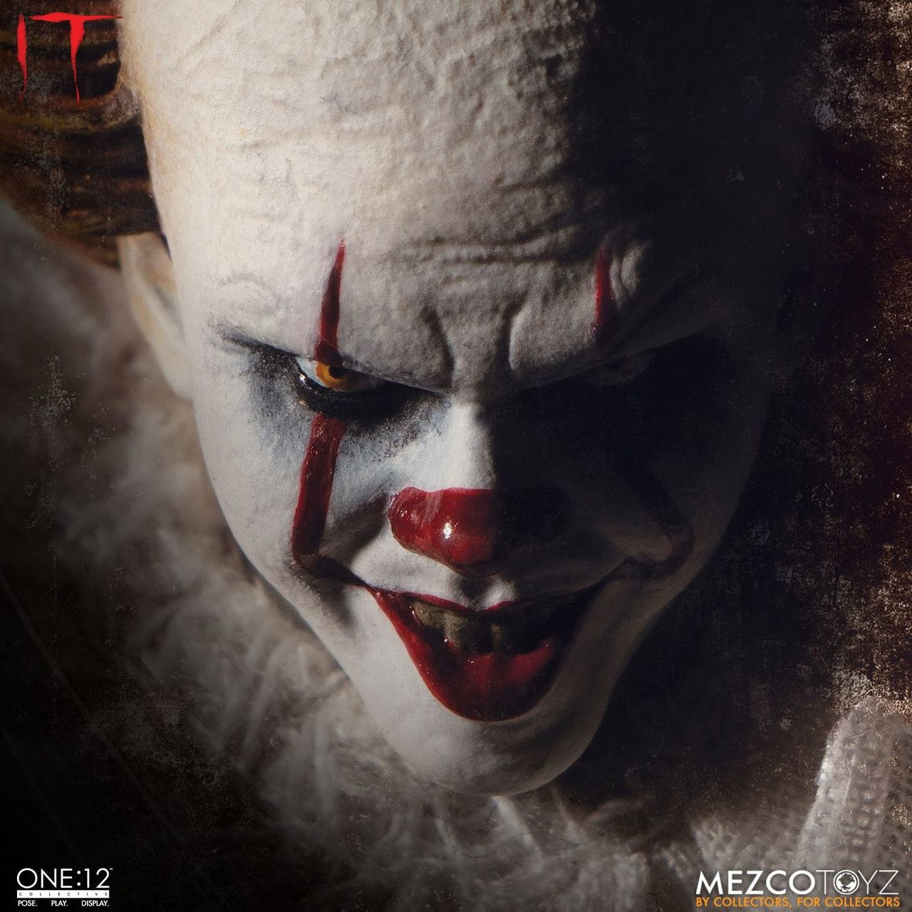Mezco PENNYWISE IT 2017 ONE:12 Cloth 1//12 FIGURE Stephen King 17cm New PRE-ORDER