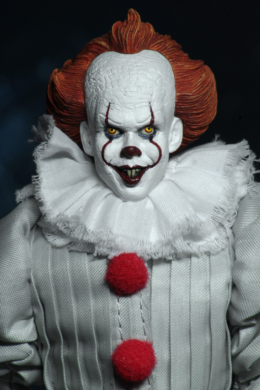 It 2017 Pennywise 8 Inch Clothed Action Figure Buy At Not Just Toyz