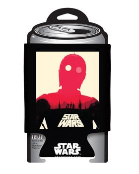 Star Wars C-3PO Poster Can Hugger