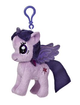 My Little Pony Twilight Sparkle 4.5-Inch Clip-On Plush