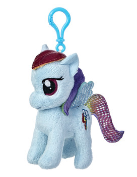 My Little Pony Rainbow Dash 4.5-Inch Clip-On Plush