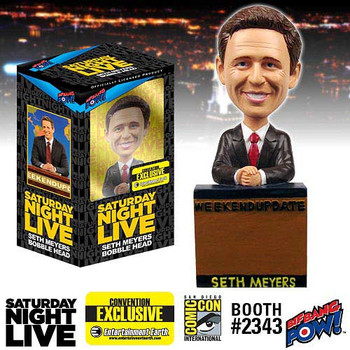 Saturday Night Live Seth Meyers Weekend Update Bobble Head