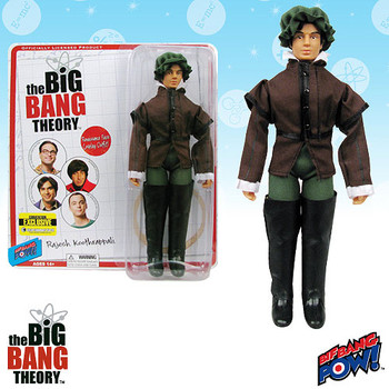 The Big Bang Theory Raj in Gentleman Costume 8-Inch Action Figure