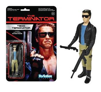 Terminator T-800 Leather Jacket ReAction 3 3/4-Inch Retro Figure