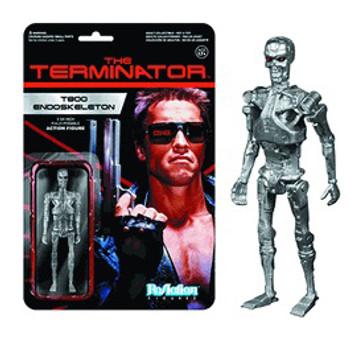 Terminator T-800 Endoskeleton ReAction 3 3/4-Inch Retro Action Figure