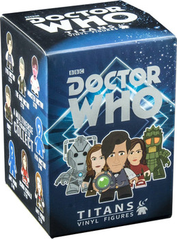 Doctor Who Titans 11th Doctor Series 2 Random Vinyl Figure