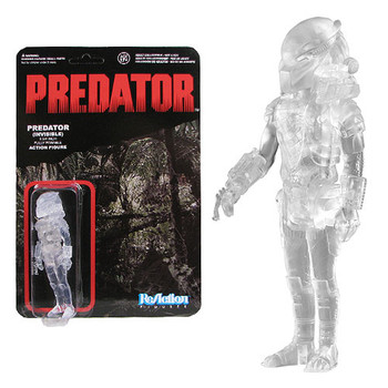 Predator Clear Masked Predator ReAction 3 3/4-Inch Retro Action Figure