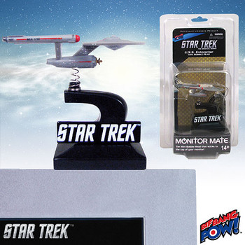 Star Trek: The Original Series Enterprise Monitor Mate Bobble Ship