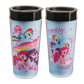 My Little Pony 16 oz. Plastic Travel Mug