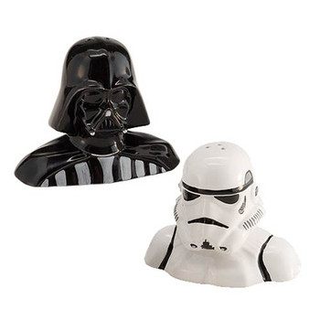 Star Wars Darth Vader and Stormtrooper Salt and Pepper Shaker Set