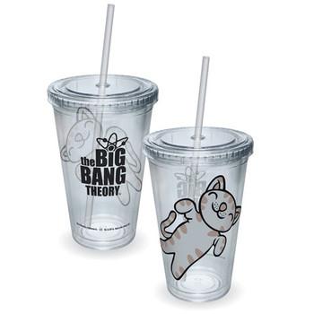 Big Bang Theory Soft Kitty Acrylic Travel Cup