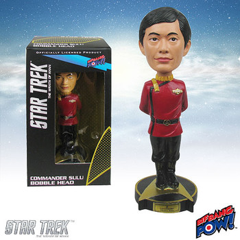 Star Trek II: The Wrath of Khan Commander Sulu Bobble Head