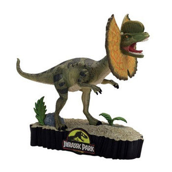 Jurassic Park Dilophosaurus Premium Motion Statue