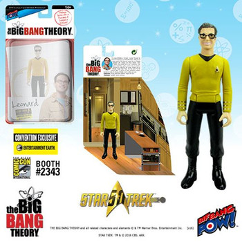 The Big Bang Theory Star Trek Leonard 3 3/4-Inch Figure