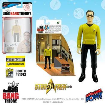 The Big Bang Theory Star Trek Leonard 3 3/4-Inch Figure