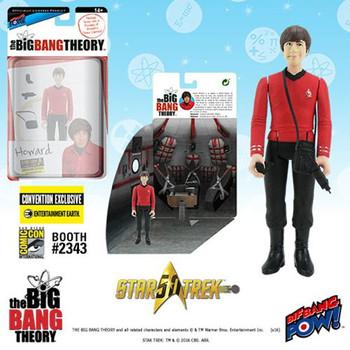 The Big Bang Theory Star Trek Howard 3 3/4-Inch Figure