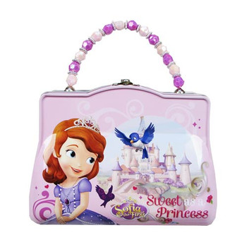 Sofia the First Classic Purse with Beaded Handle Tin