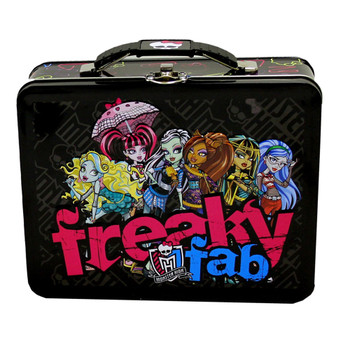 Monster High Freaky Fab Large Embossed Tin Lunch Box