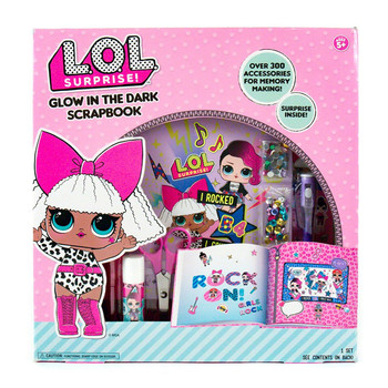 L.O.L Surprise Glow In The Dark Scrapbook