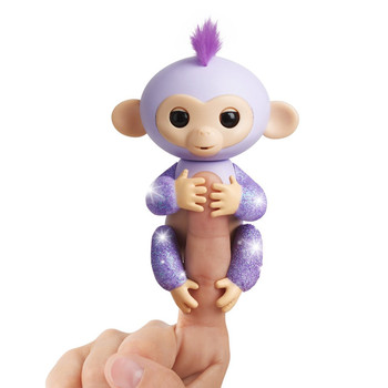 Fingerlings Glitter Monkey - Kiki (Purple Glitter)