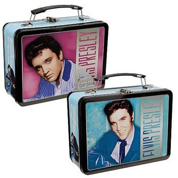 Elvis Presley The King of Rock N Roll Large Tin Tote