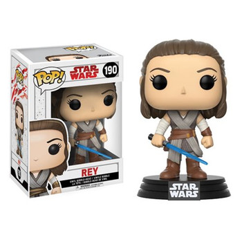 Star Wars: The Last Jedi Rey Pop! Vinyl Bobble Head #190