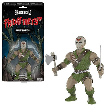 Friday the 13th Jason Voorhees Savage World Action Figure