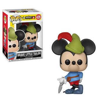 Mickey's 90th Brave Little Tailor Pop! Vinyl Figure #429