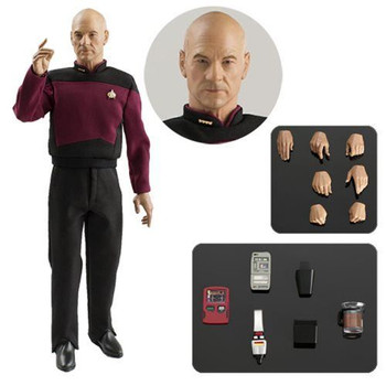Star Trek: The Next Generation Captain Jean-Luc Picard 1:6 Scale Action Figure