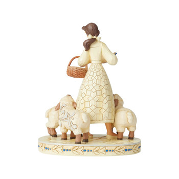 Disney Traditions Beauty and the Beast Belle White Woodland Bookish Beauty Statue by Jim Shore