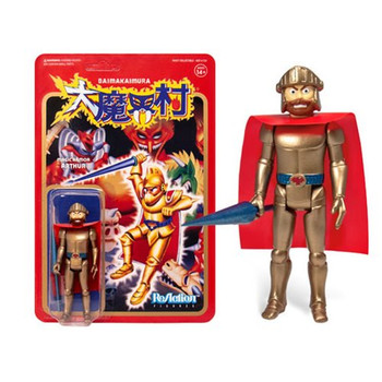 Ghosts n Goblins Magic Armor Arthur 3 3/4-Inch ReAction Figure