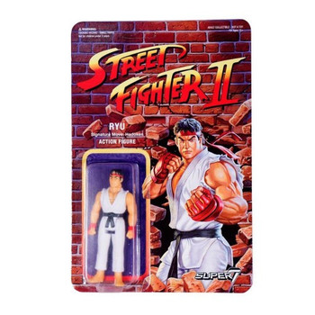 Street Fighter II Ryu ReAction Figure