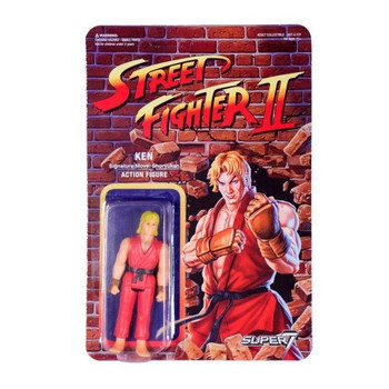 Street Fighter II Ken ReAction Figure