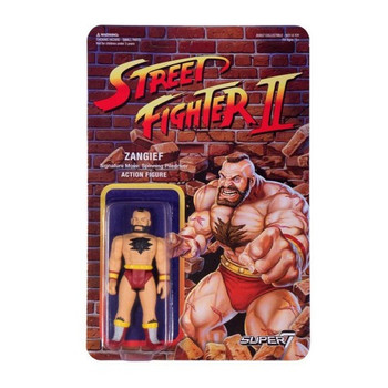 Street Fighter II Zangief ReAction Figure