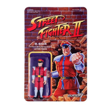 Street Fighter II M. Bison ReAction Figure
