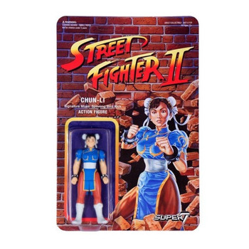 Street Fighter II Chun-Li ReAction Figure