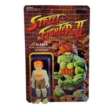 Street Fighter II Blanka (Glow In The Dark) ReAction Figure