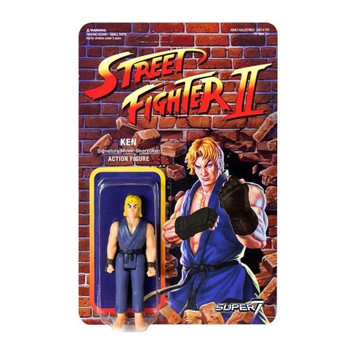 Street Fighter II Ken Championship Edition ReAction Figure