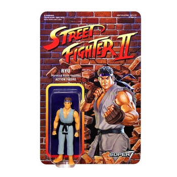 Street Fighter II Ryu Championship Edition ReAction Figure