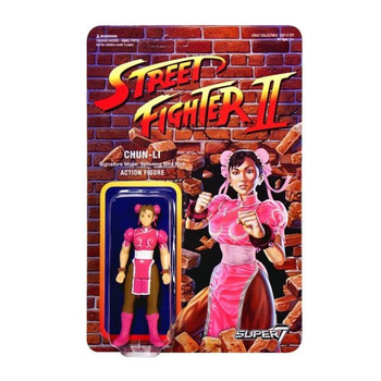 Street Fighter II Chun-Li Championship Edition ReAction Figure