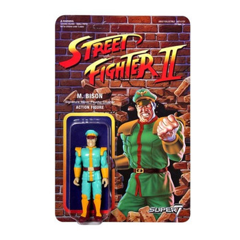 Street Fighter II M. Bison Championship Edition ReAction Figure