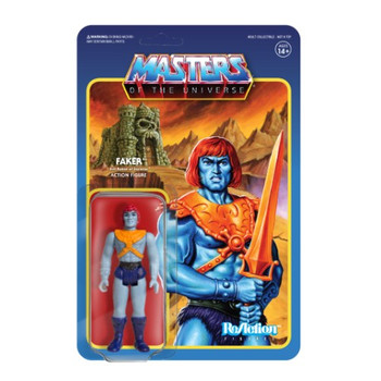 Master Of The Universe Faker ReAction Figure