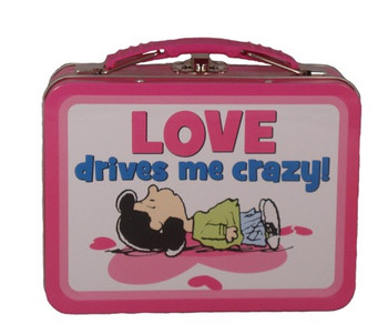 Peanuts (Love Drives Me Crazy!) Small Lunch Box