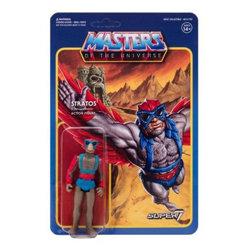 Master Of The Universe Stratos ReAction Figure