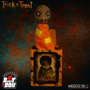 Trick 'r Treat Sam Burst a Box Jack-in-the-Box